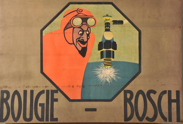 A Bougie Bosch poster,