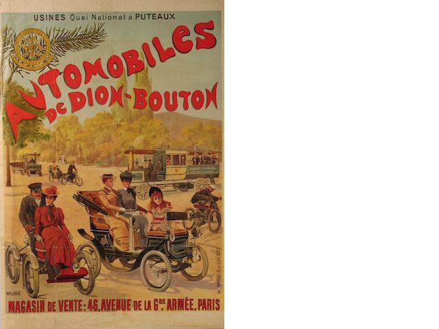 A De Dion Bouton poster,