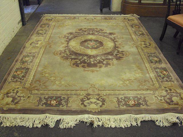 A modern Chinese carpet 305cm x 220cm