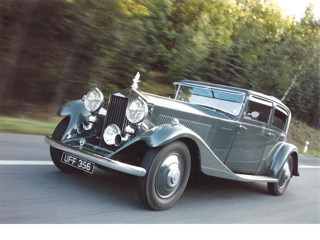 In current ownership since 1977, Rolls Royce Phantom II Continental 1933, Chassis no. 64 MY