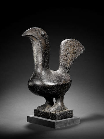 Breon O'Casey, Cock, bronze