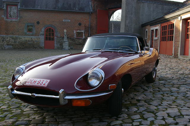 Jaguar E Type S1II Roadster LHD 1969