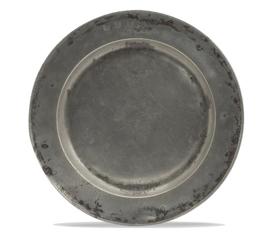 A late 17th Century single reed plate