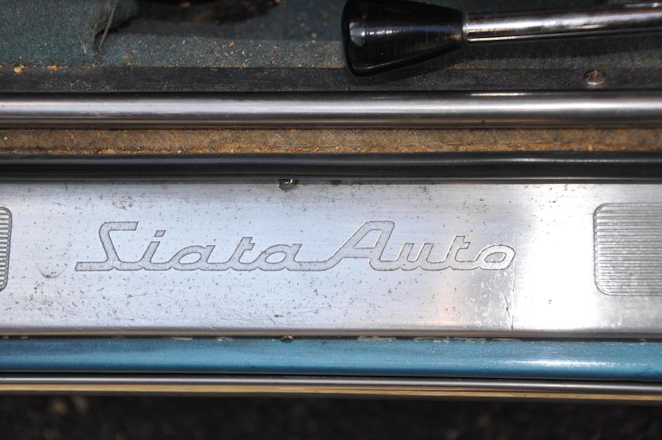 1964 SIATA 1500 TS Coupé  Chassis no. 356606