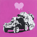 Banksy (British, born 1975) 'Everytime I Make Love To You I Think Of Someone Else', 2003