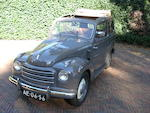 1953 Fiat 500C 'Topolino' Giardiniera Station Wagon  Chassis no. 470249 Engine no. 435773