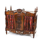 A 19th century walnut panetière, French