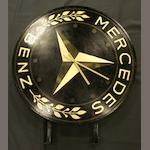 A 'Mercedes-Benz' illuminating box sign,
