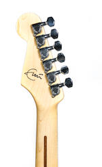 A Fender three-quarter size Stratocaster Year?, Serial No. AD007037,
