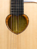 A 2005 Zemaitis Custom acoustic,