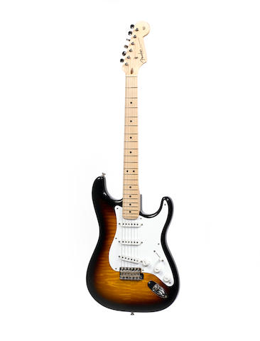 "A Fender Custom Shop ""One-of-a-Kind"" Eric Clapton T-Mobile Stratocaster, 2010,  Serial No. CZ515304,"