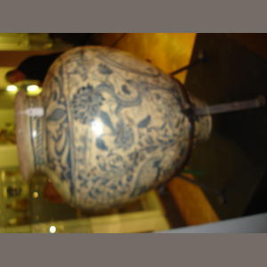 A large Seville faience water jar from the Collection of Anthony Ray early 18th century