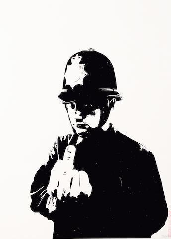 Banksy (British, born 1975) 'Rude Copper', 2002