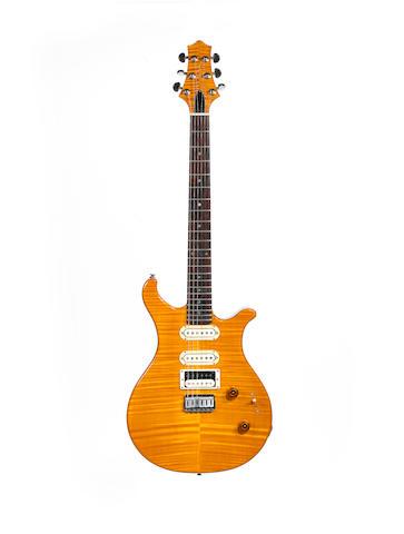 A Custom Built Anderberg Electric Guitar, Serial No. H0406,