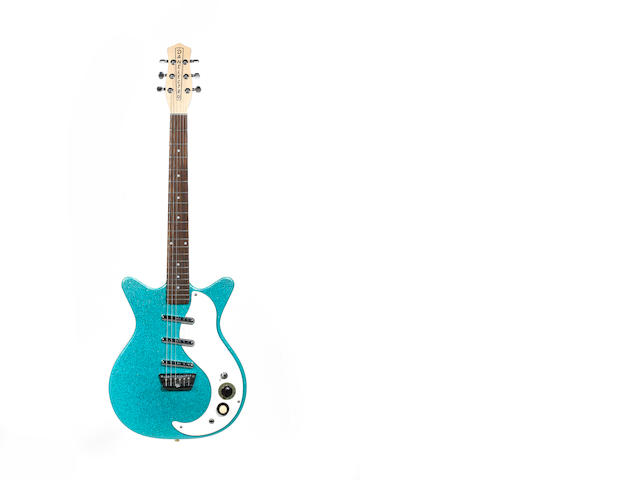 Danelectro DC 3 Electric Guitar, Serial No. 049907045