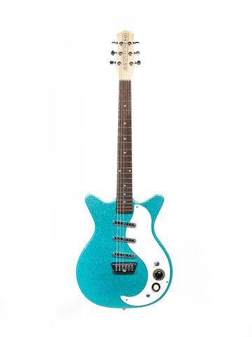 Danelectro DC 3 Electric Guitar, Serial No. 049907045