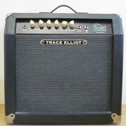 John Entwistle's 'Brat' amplifier by Trace Elliott