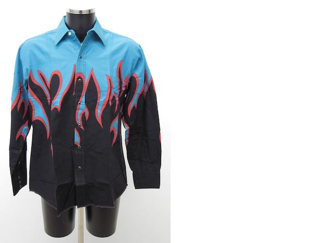 A shirt worn by John Entwistle