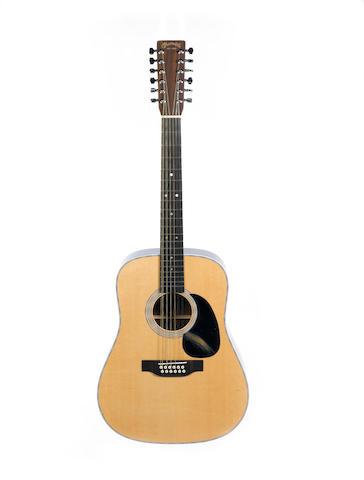 Martin D-28 12 string,  Serial No. 1279975,