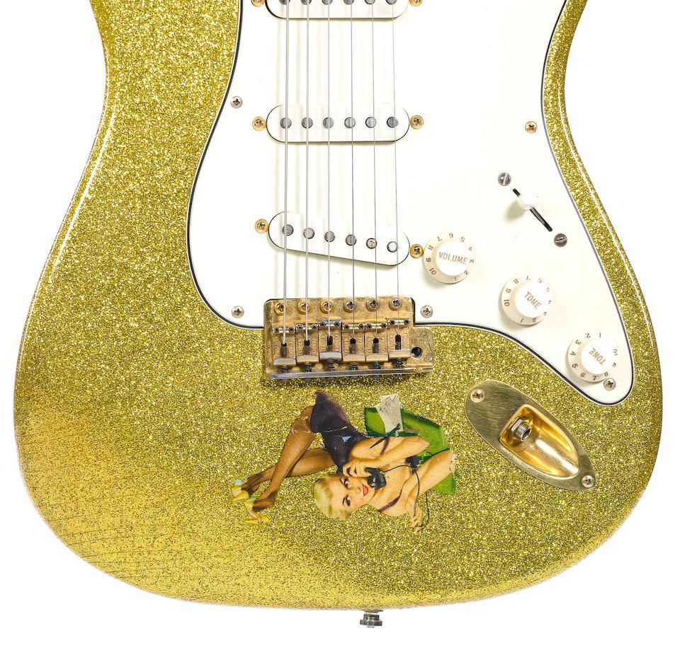A Fender Stratocaster,
