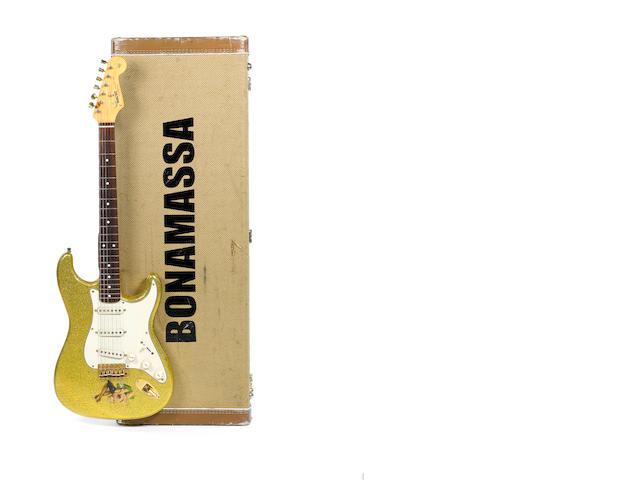 A Custom Built Fender Stratocaster, 1960s?, no Serial No.