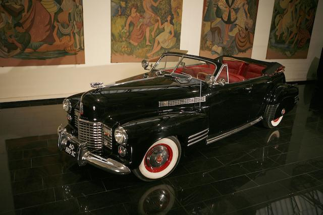1941 Cadillac Series 62 Convertible  Chassis no. 8349253
