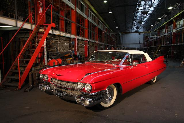 Ex Freddy Heineken,1959 Cadillac Series 62 Coupe DeVille  Chassis no. 59J132306