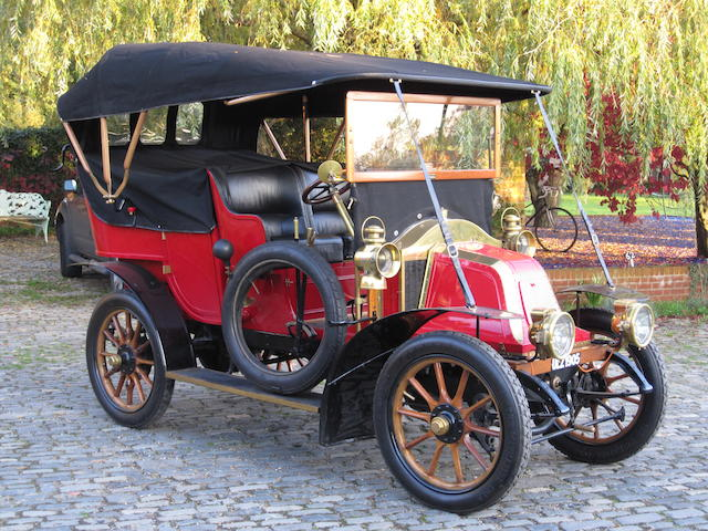 1905 Renault Type Y-A bicylindre 10 HP Double Phaéton roi-des-belges  Chassis no. Y-A 4632 Engine no. 1137