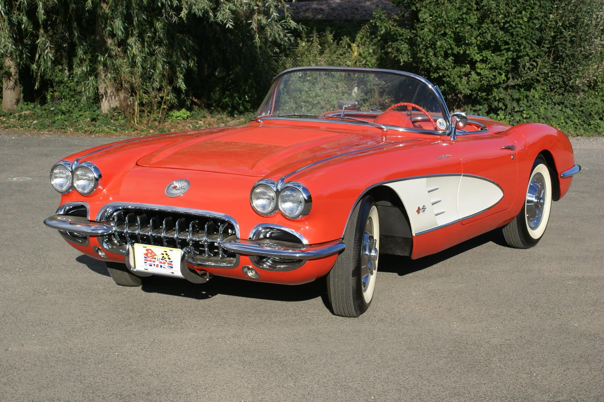 The 2006 NCRS 'Triple Crown'-winning 1958 Chevrolet Corvette Roadster...