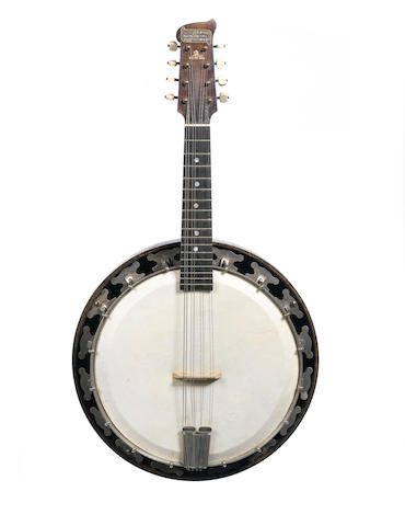 A circa 1920s G Houghton & Sons Melody Major Mandolin-banjo,