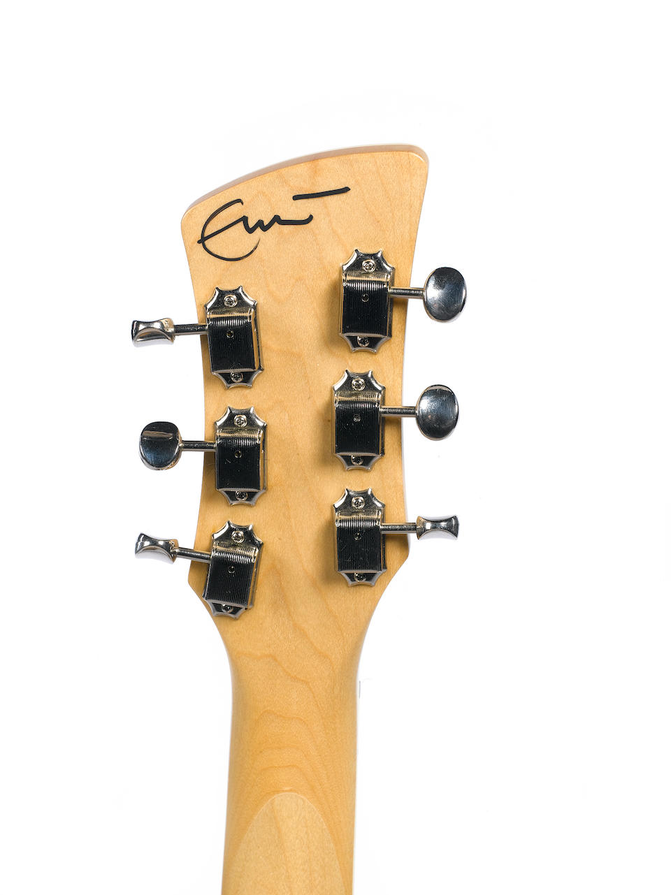 An early 1990s Charvel Surfcaster, Serial No. 380538,