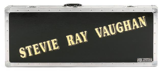 A Fender Custom Shop Tribute Series Stevie Ray Vaughan 'Lenny' Stratocaster Replica,  2007,  Serial No. MK482,