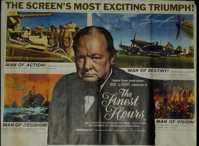 A large collection of UK Quad and UK one-sheet film posters