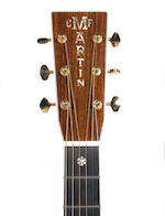 A 2003 Martin D-45V Chris Martin, Serial No. 930682,