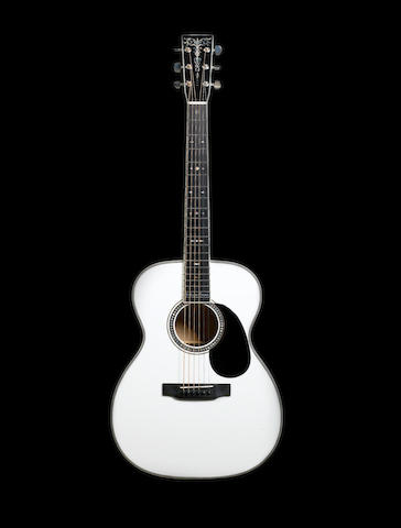 A 2004 Martin 000-ECHF Bellezza Bianca, Serial No. 1000305,