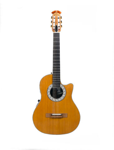A 1985/86 Ovation Model 1663 Classic Cutaway, Serial No. 307884,