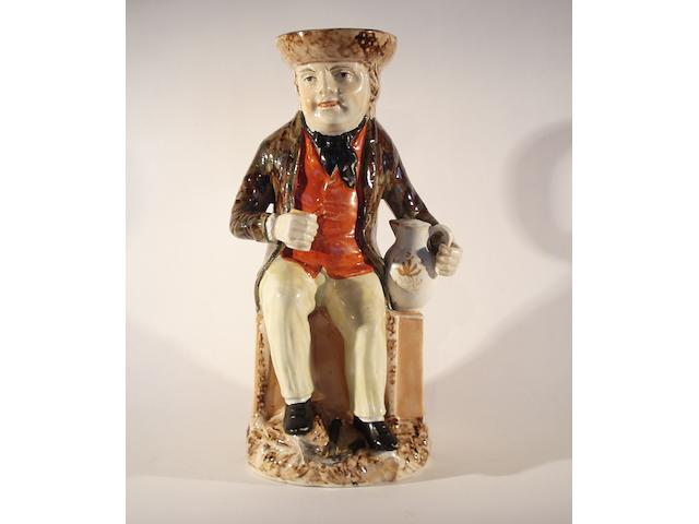 A Sailor Toby jug, circa 1820