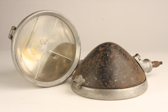 A pair of Bleriot-Phi headlights