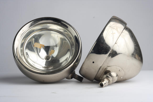 A good pair of Lucas model R50B headlamps,