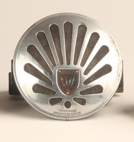 A Scintilla horn,