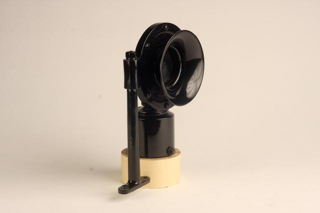 A Klaxon air horn, American,