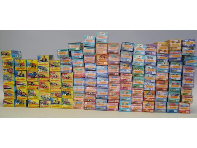 Matchbox 1-75 Superfast approx. 150