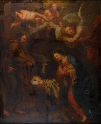 After Sir Peter Paul Rubens, circa 1800 The Nativity