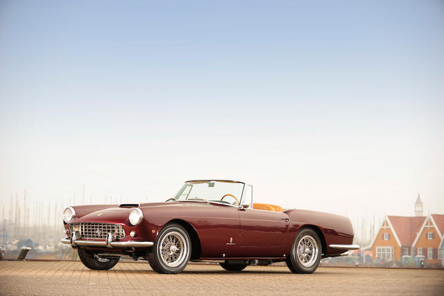 1960 Ferrari  250GT Series II Cabriolet  Chassis no. 1865 GT