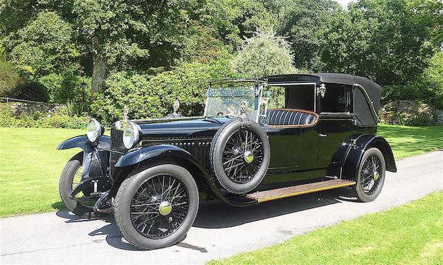 1920  Delage CO 4 ½ litre Salamanca  Chassis no. 7283      Engine no. 15354
