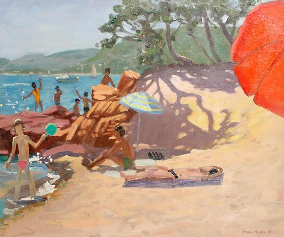 Andrew Macara (British, born 1944) 'Palombaggia, Corsica'