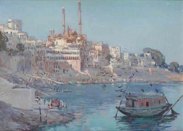 Robert Gwelo Goodman (South African, 1871-1939) Benares, India
