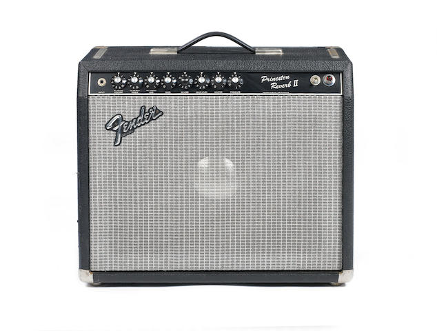 Fender Princeton Reverb IIcombo guitar amplifier,  Serial No. F312558