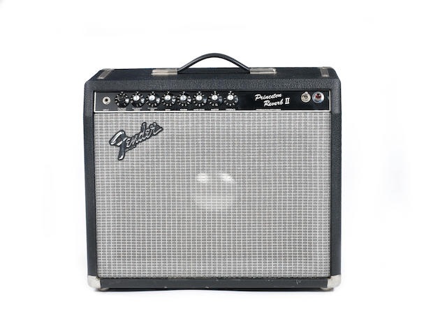 Fender Princeton II Reverb combo guitar amplifier,  Serial No. F-309847