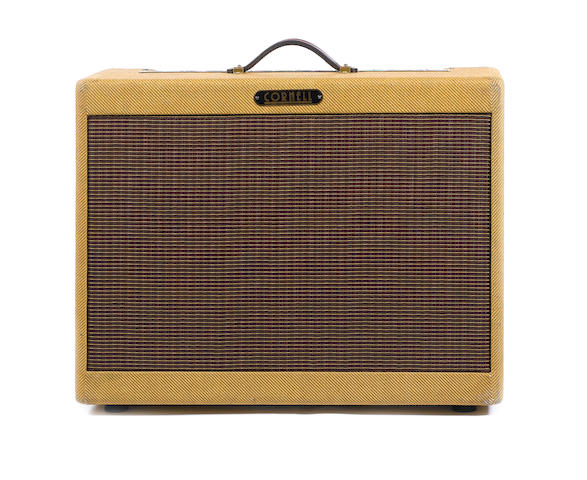 Cornell Custom 80 combo guitar amplifier,  Serial No. DC1